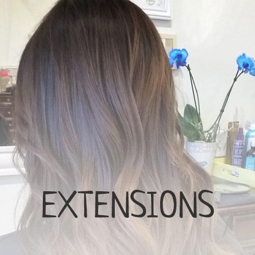 hair extension salon services